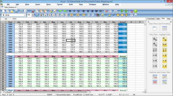 Spreadsheet Software Programs1