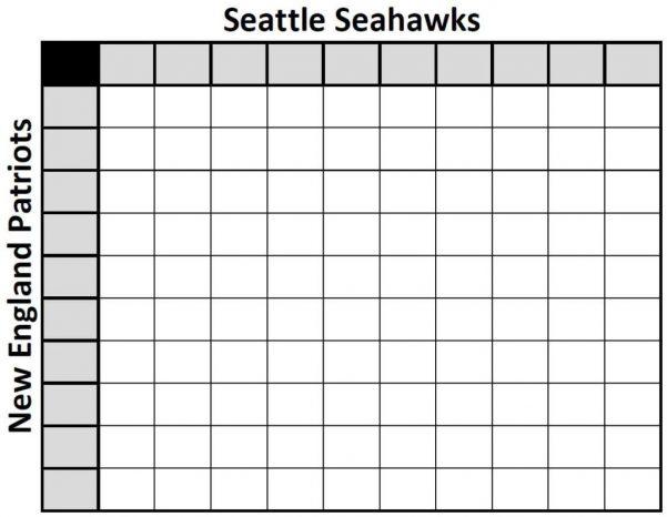Super Bowl Game Schedule