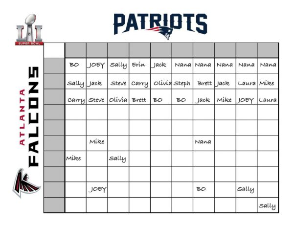 Super Bowl Playoff Schedule Super Bowl Spreadsheet Template Spreadsheet Templates for Business Super Bowl Spreadshee