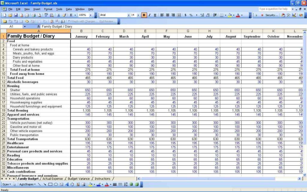 Wedding Budget Checklist Spreadsheet