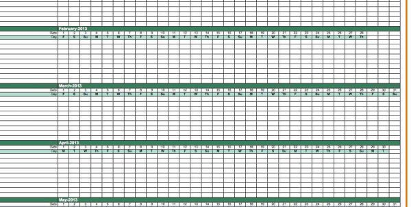 Weekly Payroll Spreadsheet