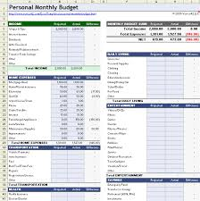 Free Printable Monthly Budget Workshee