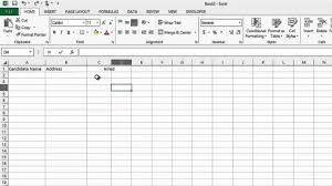 Free Recruiting Tracking Template