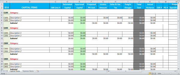 Sample Budget For Business Business Budget Spreadsheet Template Budget Spreadsheet
