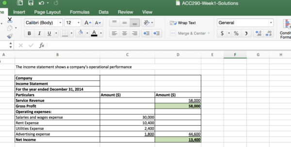 Sample Spreadsheet For Tracking Expenses