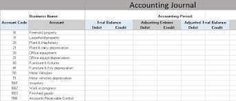 Accounting Templates Excel Worksheets 1