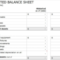 Balance Sheet Format In Excel For Partnership Firm