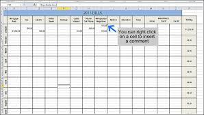 Bill Format In Word