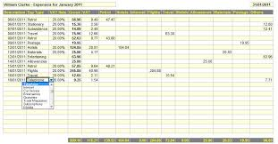 Business Expense Spreadsheet For Taxes