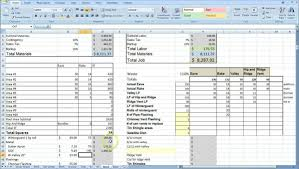 Cost Breakdown Sheet For Building A House