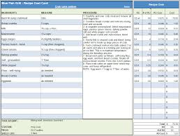 Cost Proposal Template Excel