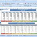 Credit Card Spreadsheet Template