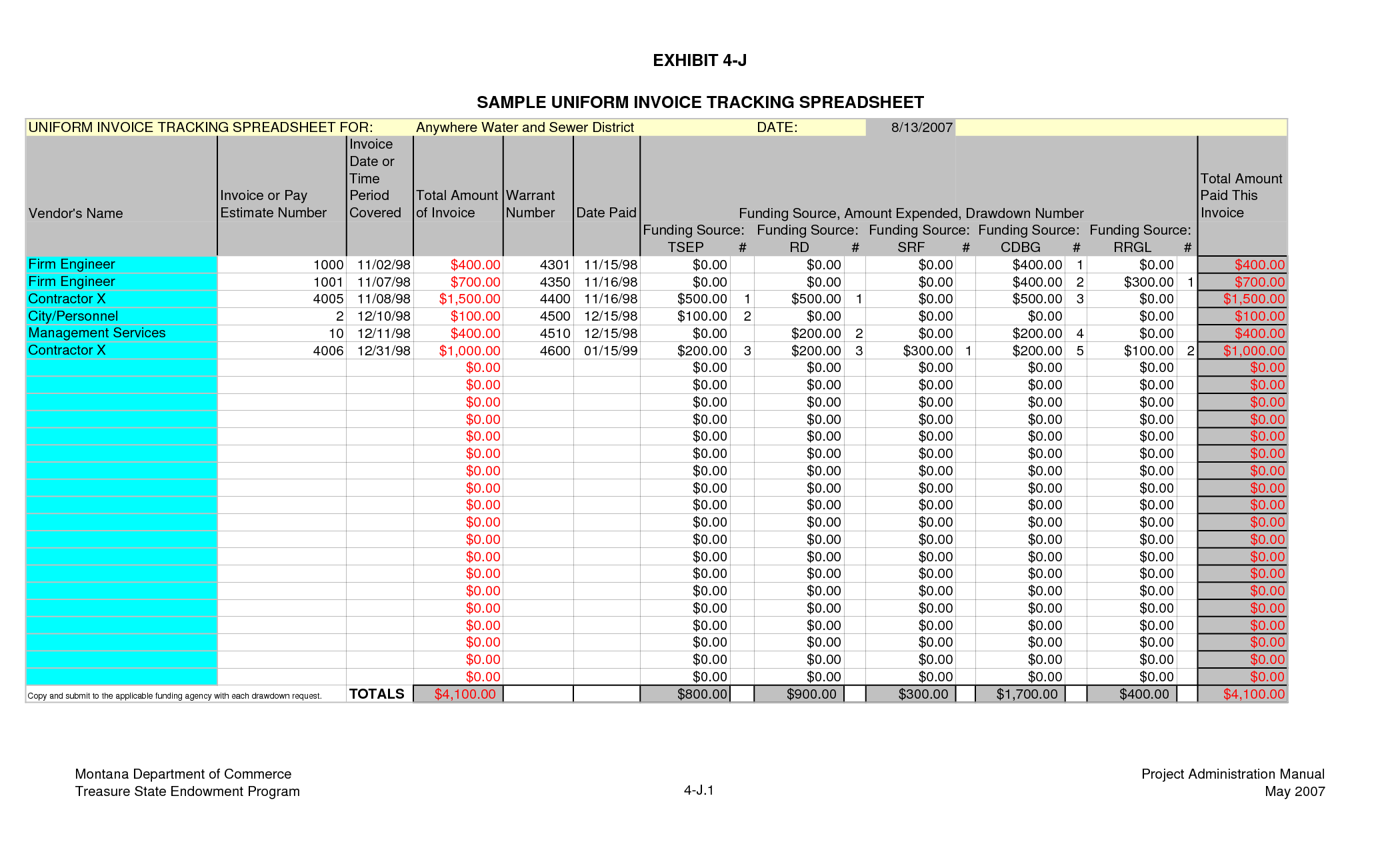 Crm Template Excel