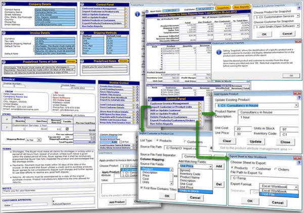 Customer Management Excel Template