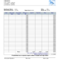 Employee Expense Report Template 5
