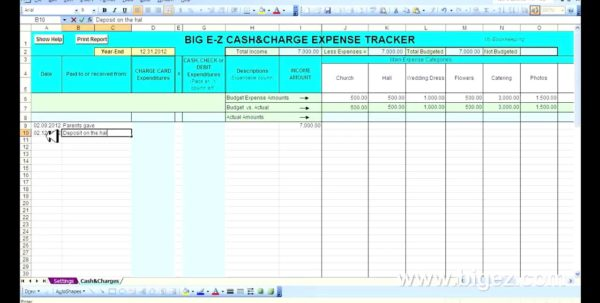 Excel Spreadsheet To Keep Track Of Payments