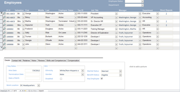 Excel Templates For Customer Information