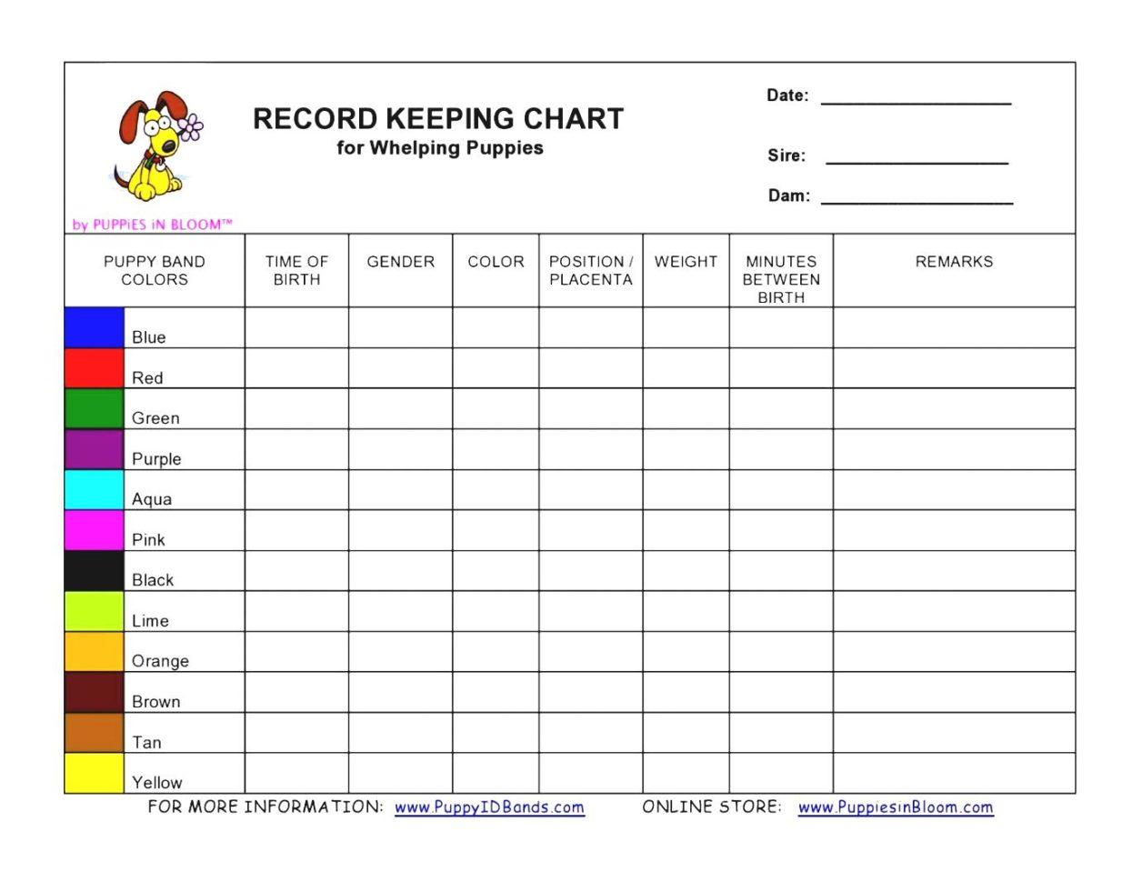 bar inventory sheet