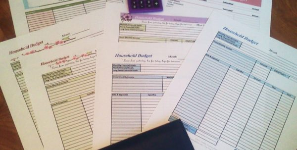 Financial Planner Sheet
