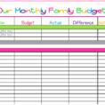 Financial Planning Worksheets Excel