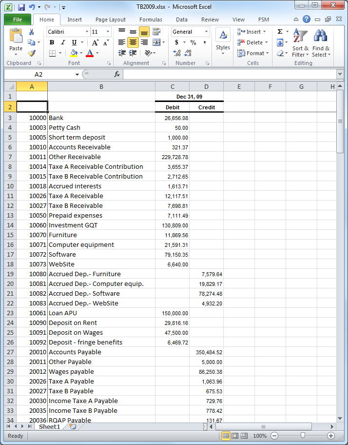 Free Excel Accounting Templates Download Pdf