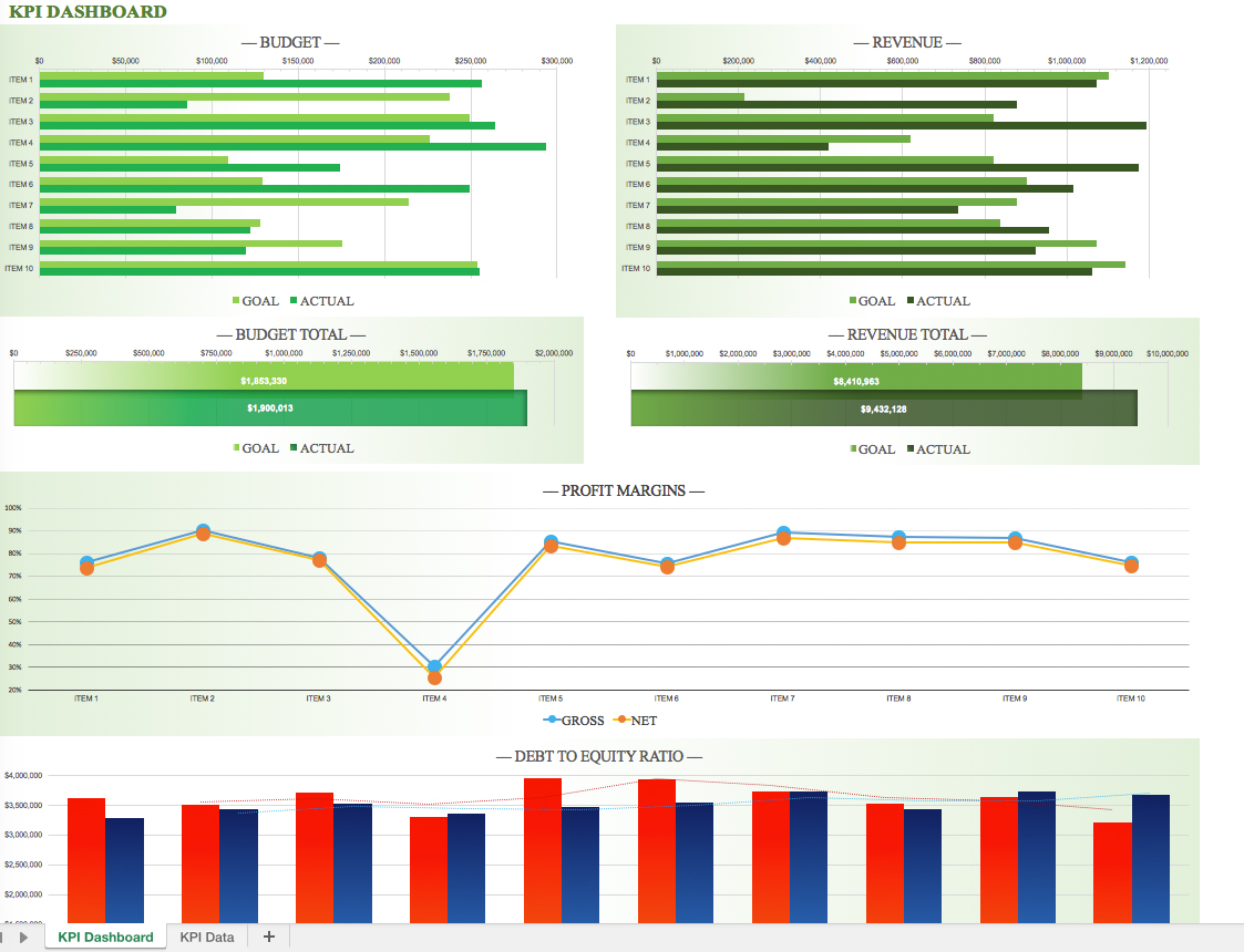 free excel dashboard tutorial pdf