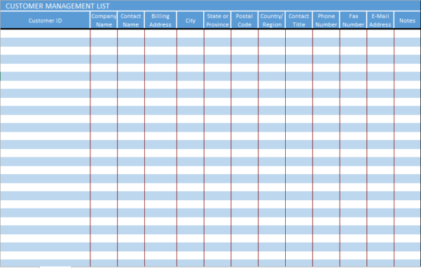 Google Sheets Crm Template