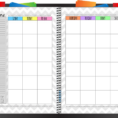 Monthly Budget Planner Template 1