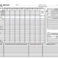 Monthly Expense Report Template Excel 1
