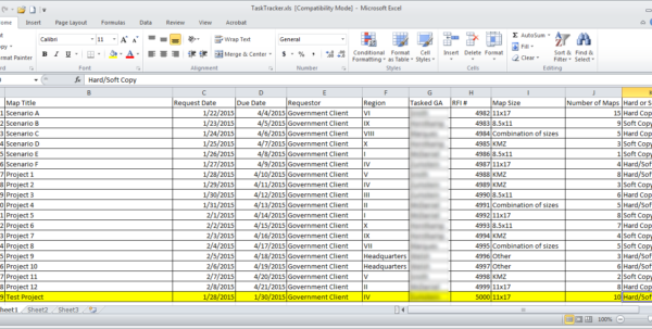 document tracking system excel excel spreadsheet templates