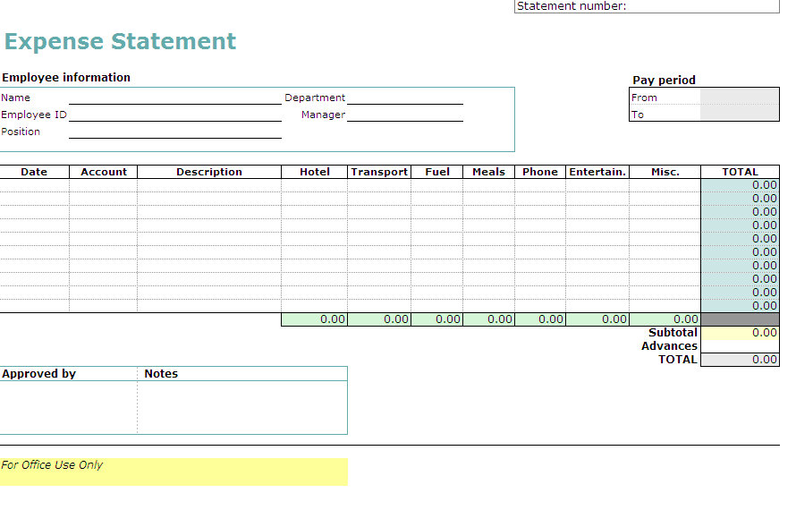 Business Travel Expense Estimate Template For Mac Free