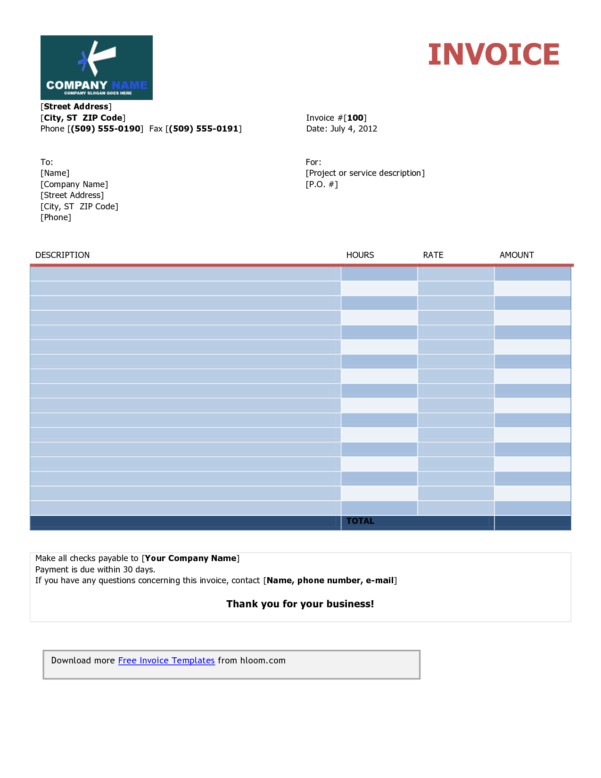 Attorney Hourly Billing Sheet Template