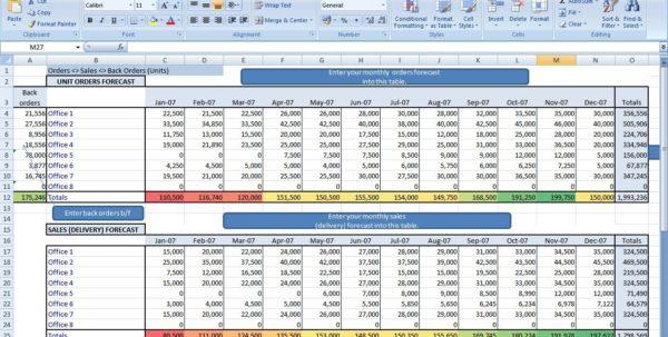 Cash Flows Excel