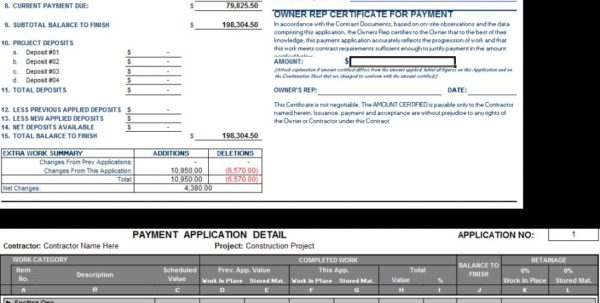 Contract Labor Invoice