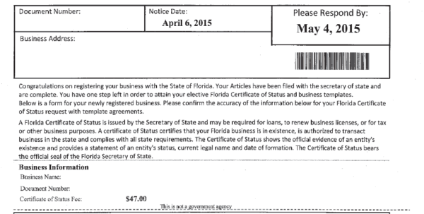 Form A Business In Florida