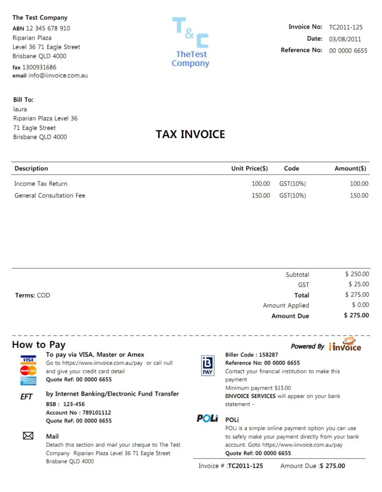 Free Invoices For Small Business