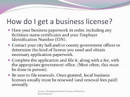 How Get Business License