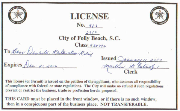 How Much Does A Business License Cost
