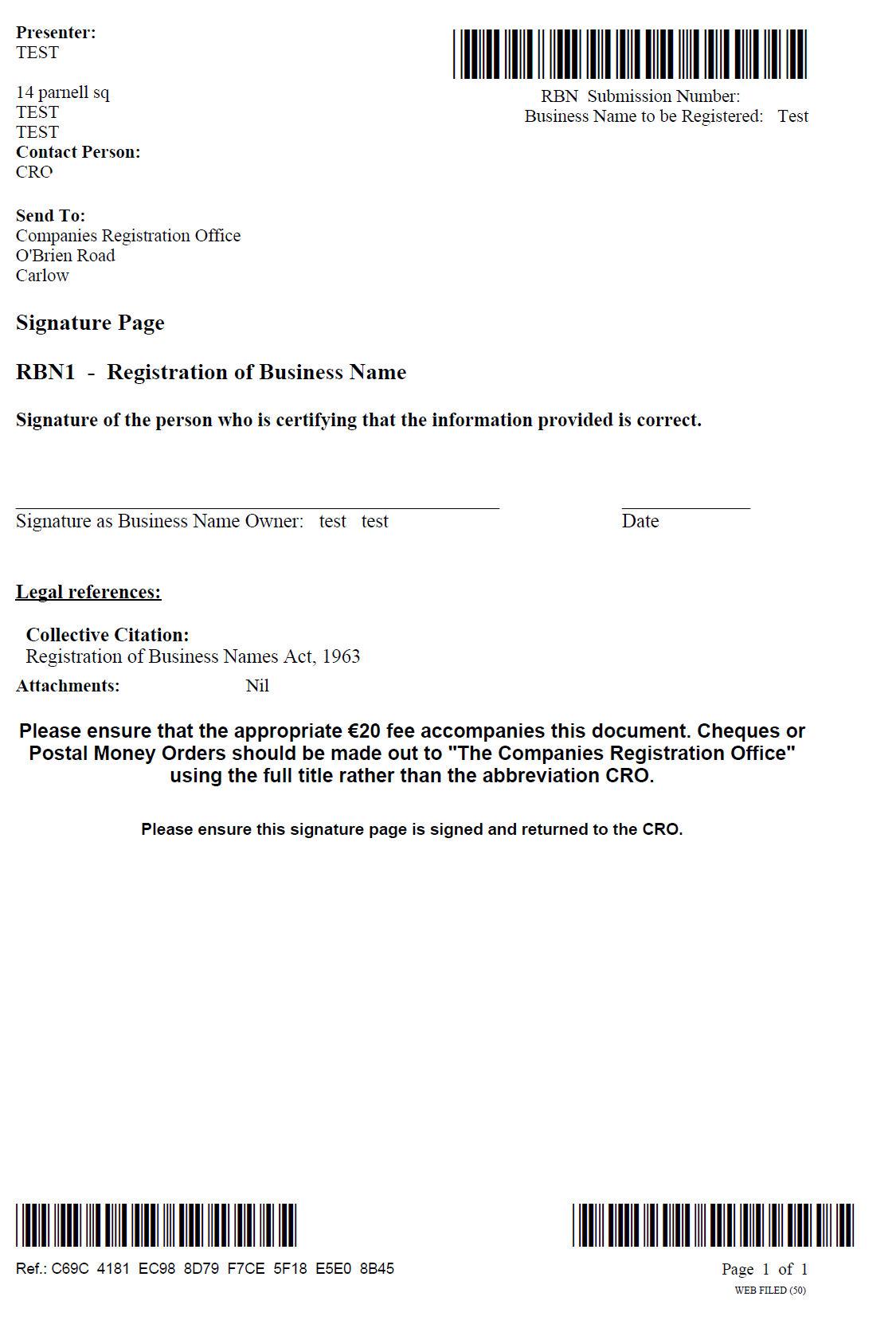 illinois application to transact business