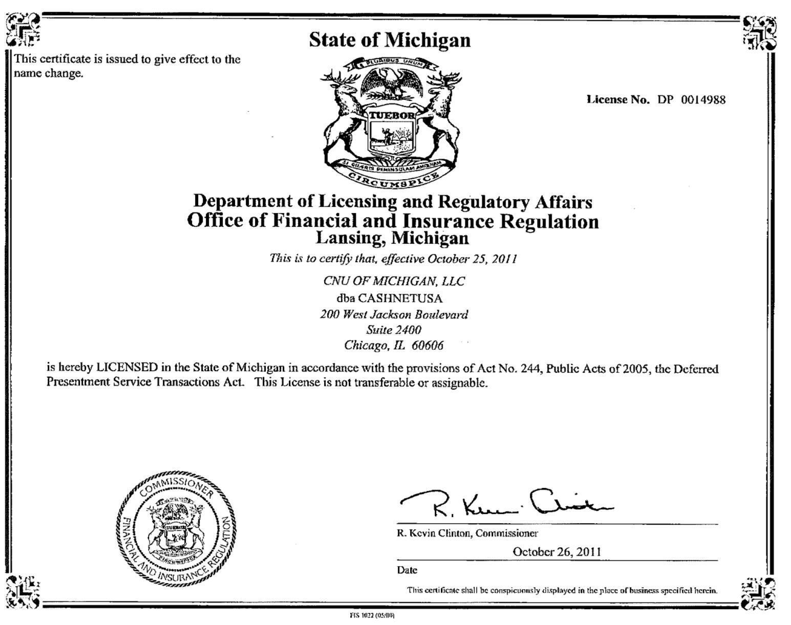LLC License Application