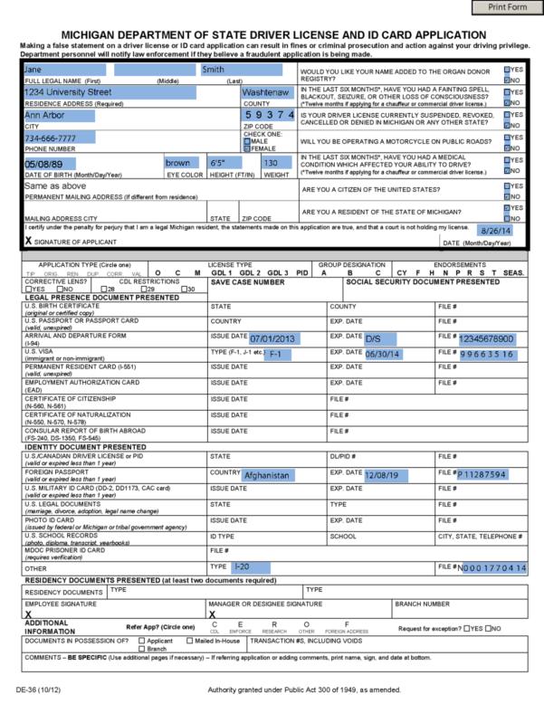 Michigan Business License Registration