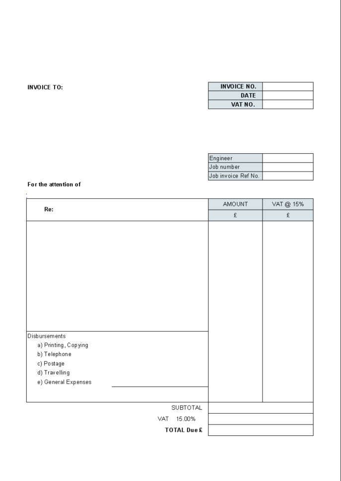 Professional Timesheet Template