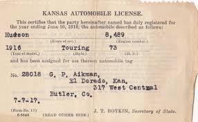 Car Registration License