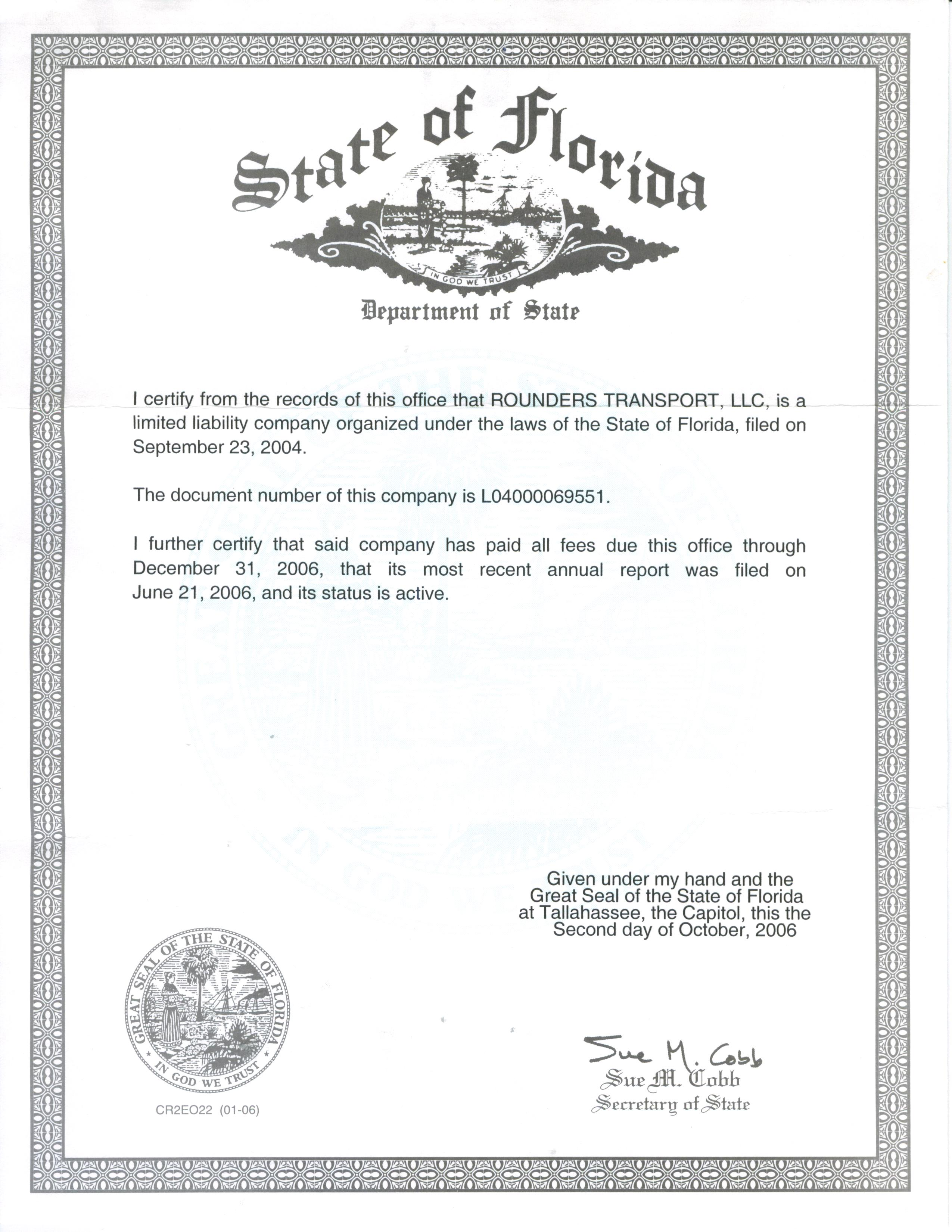 Check Business License