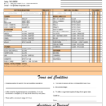 Cleaning Invoice Free Download