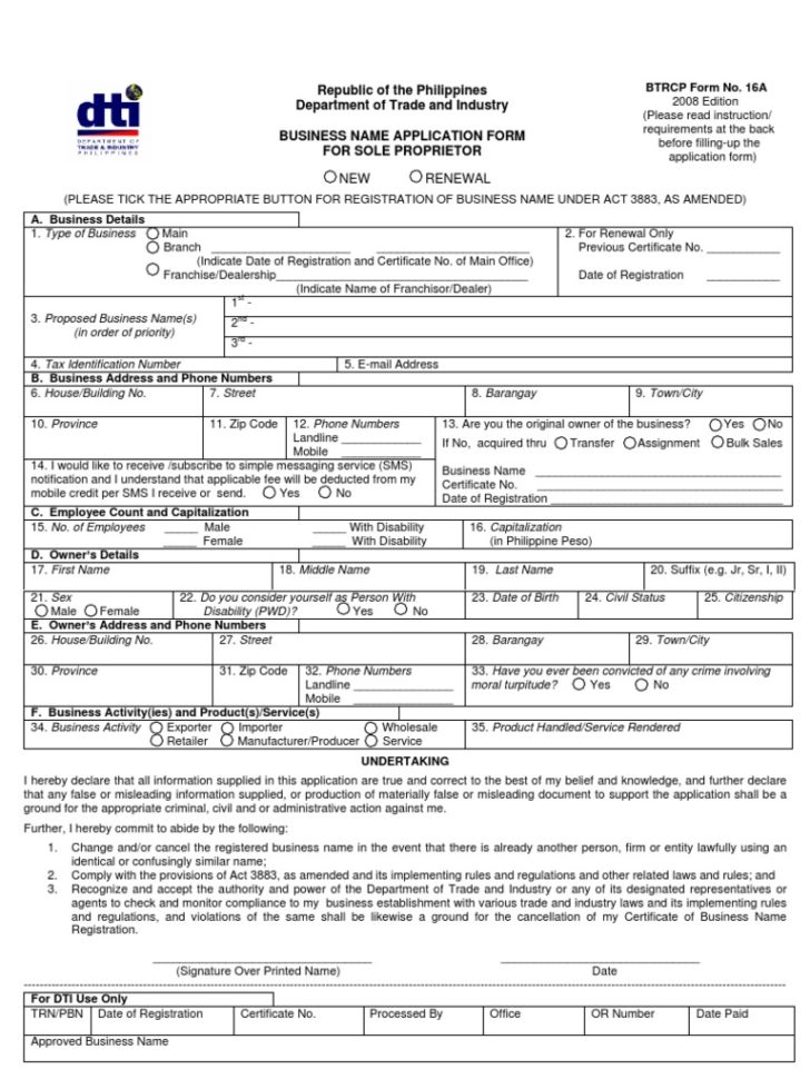 Dekalb County Business Registration Application