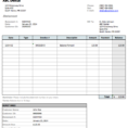 Dental Invoice Sample