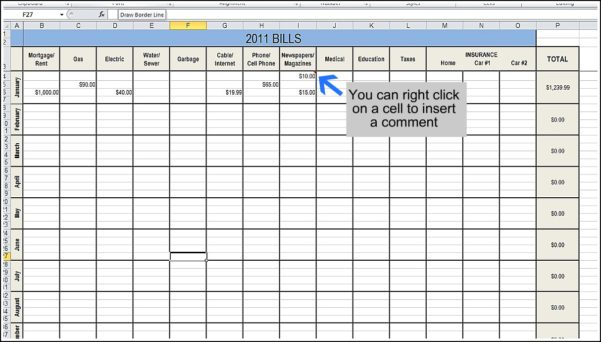 Download Excel Templates Free