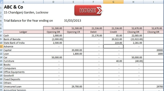 Excel Bookkeeping Templates Free