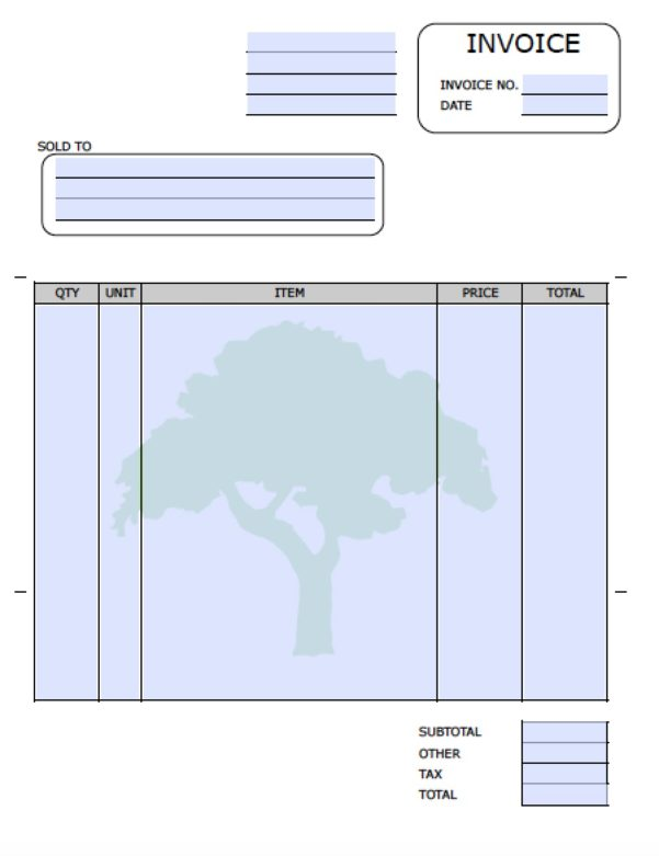 Excel Simple Invoice Template